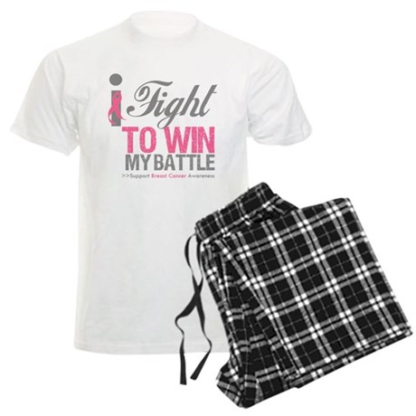 I Fight To Win Battle Men's Light Pajamas