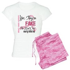 Fake 3 - Breast Cancer Pajamas