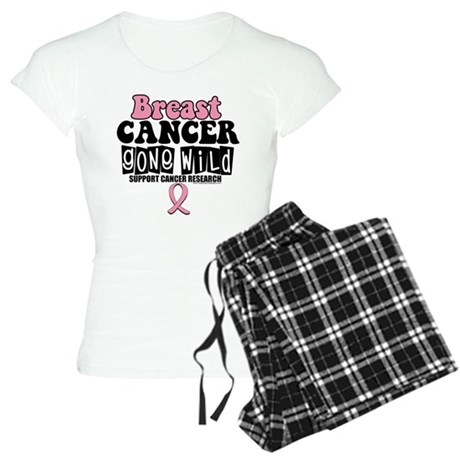 Breast Cancer Gone Wild Women's Light Pajamas