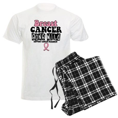 Breast Cancer Gone Wild Men's Light Pajamas