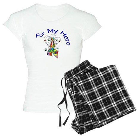 Autism For My Hero Women's Light Pajamas