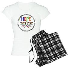 Autism Hope Tribal Ribbon Pajamas