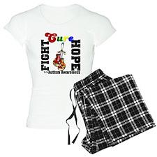 Fight Hope Cure Autism Pajamas
