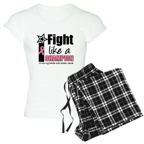 I Fight Like a Champion Women's Light Pajamas