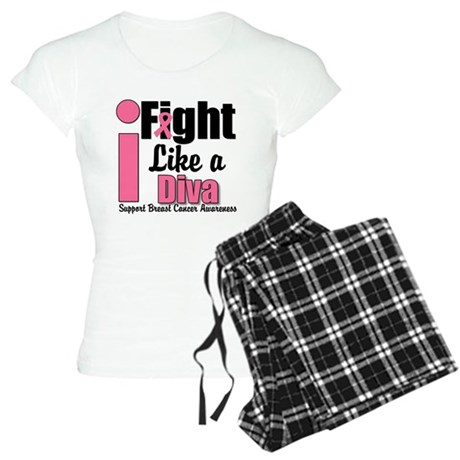 I Fight Like A Diva Women's Light Pajamas