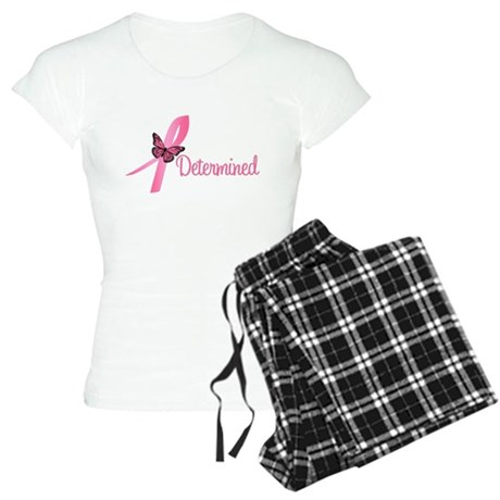 Breast Cancer Determined Women's Light Pajamas