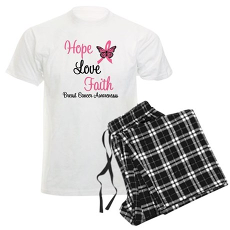 Breast Cancer Hope Men's Light Pajamas
