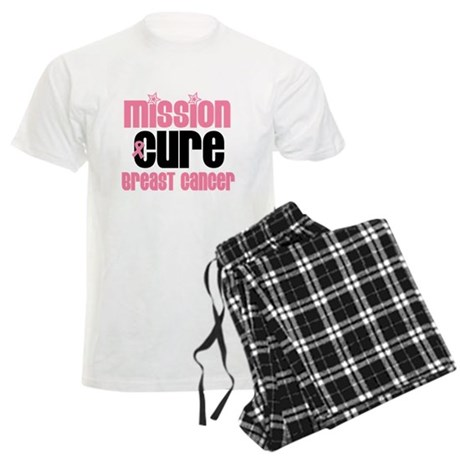 Breast Cancer Cure Men's Light Pajamas
