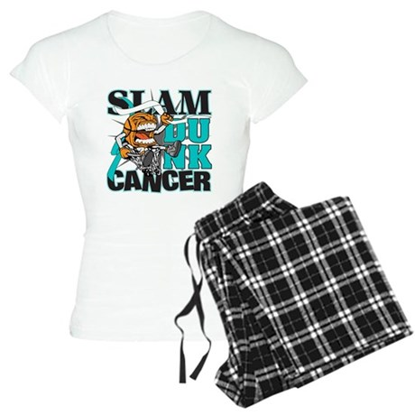 Slam Dunk Cervical Cancer Women's Light Pajamas