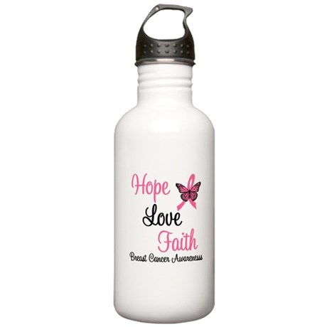 Breast Cancer Hope Stainless Water Bottle 1.0L