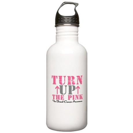 Turn Up The Pink (BC2) Stainless Water Bottle 1.0L