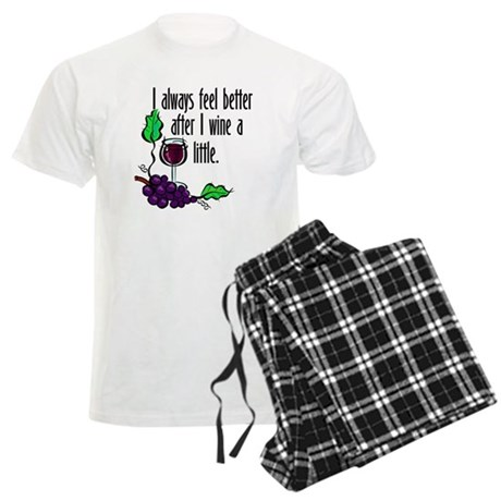 I Whine & Wine Men's Light Pajamas