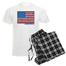 Flag Pledge of Allegiance Pajamas