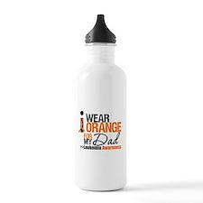Leukemia (Dad) Water Bottle