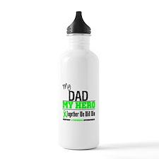Lymphoma Hero Dad Water Bottle