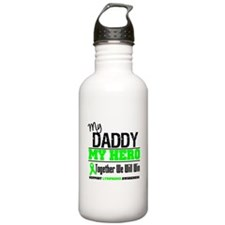 Lymphoma Hero Daddy Water Bottle