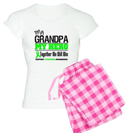 LymphomaHeroGrandpa Women's Light Pajamas