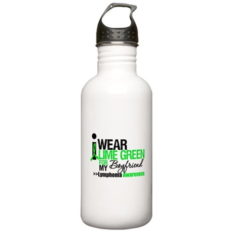 I Wear Lime Green Stainless Water Bottle 1.0L