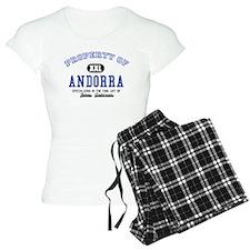 Property of Andorra pajamas