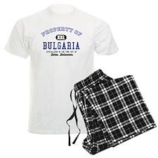 Property of Bulgaria pajamas
