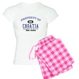 Property of Croatia pajamas