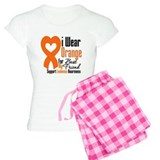 Leukemia Best Friend pajamas