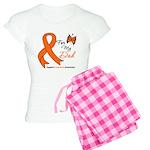Leukemia Ribbon Dad Women's Light Pajamas
