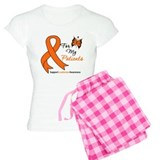 Lymphoma Ribbon Patients pajamas