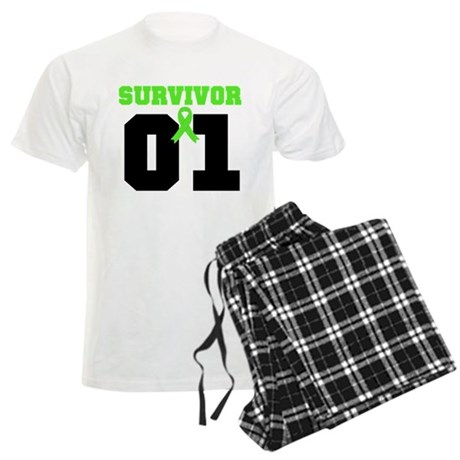Lymphoma Survivor 1 Years Men's Light Pajamas