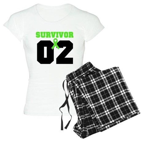 Lymphoma Survivor 2 Years Women's Light Pajamas