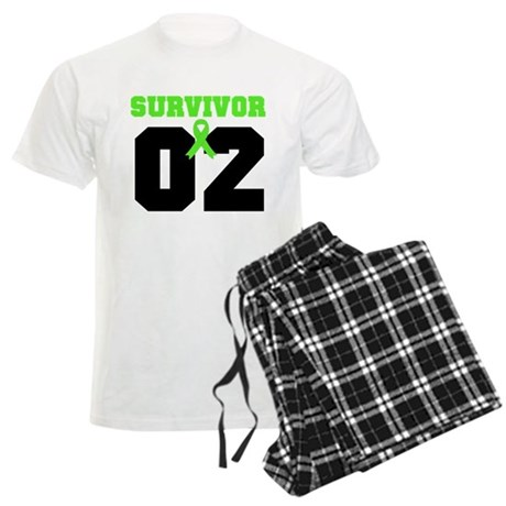 Lymphoma Survivor 2 Years Men's Light Pajamas