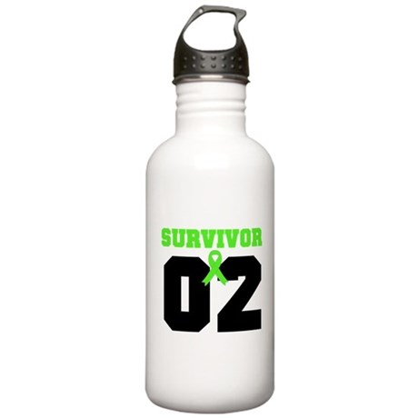 Lymphoma Survivor 2 Years Stainless Water Bottle 1