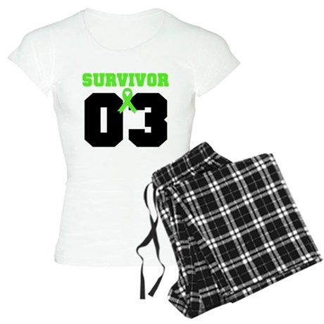 Lymphoma Survivor 3 Years Women's Light Pajamas