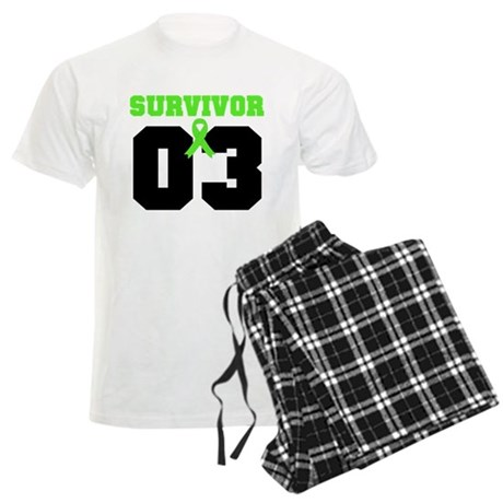 Lymphoma Survivor 3 Years Men's Light Pajamas