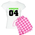 Lymphoma Survivor 4 Years Women's Light Pajamas
