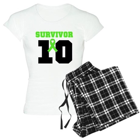 Lymphoma Survivor 20 Year Women's Light Pajamas