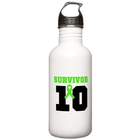 Lymphoma Survivor 20 Year Stainless Water Bottle 1