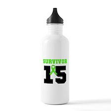 Lymphoma Survivor 20 Year Water Bottle
