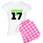 Lymphoma Survivor 17Year Women's Light Pajamas