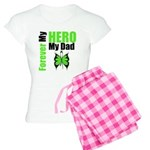 Lymphoma Hero Dad Women's Light Pajamas