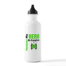 Lymphoma Hero Daughter Water Bottle