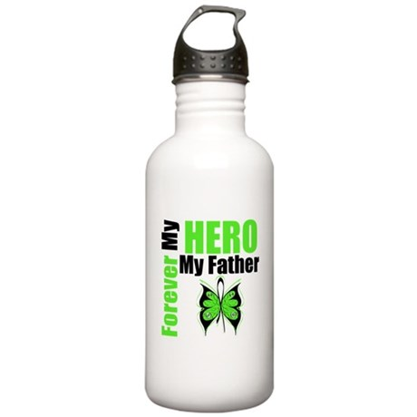Lymphoma Hero Father Stainless Water Bottle 1.0L