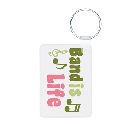 Band is Life Aluminum Photo Keychain