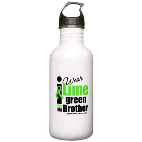 Lymphoma I Wear Stainless Water Bottle 1.0L