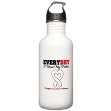 LungCancer Father Water Bottle