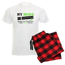 Lymphoma Hero Grandma Pajamas