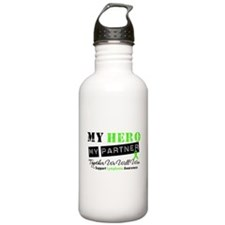 Lymphoma Hero Partner Water Bottle