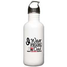 Lung Cancer Dad Water Bottle
