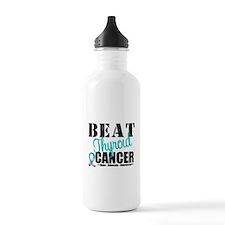 Beat Thyroid Cancer Water Bottle