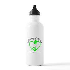 Lymphoma Memory Dad Water Bottle